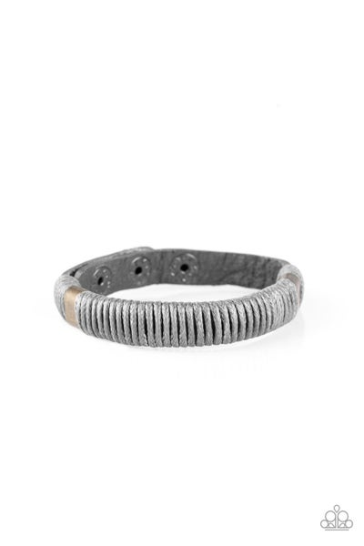 What Happens On The Road Silver Urban Bracelet