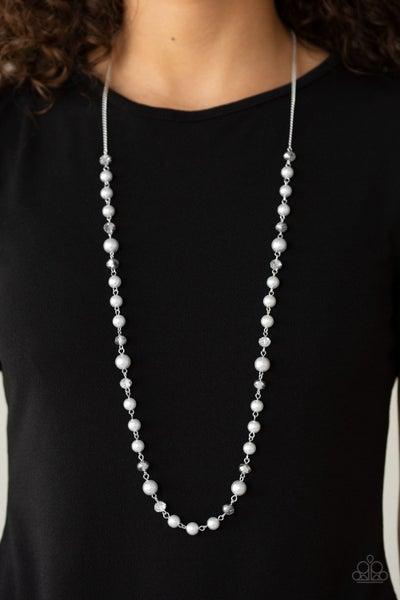Pristine Prestige Silver Necklace