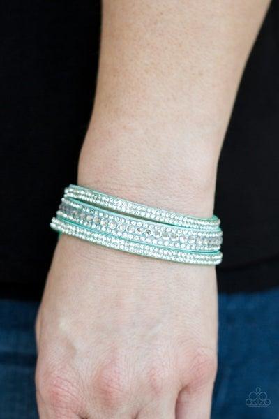 Harlem Hustle Blue Bracelet
