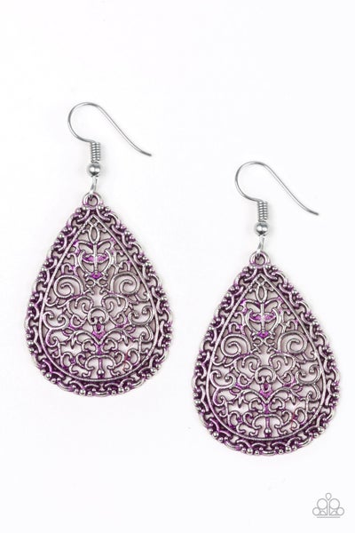 Indie Idol Purple Earrings