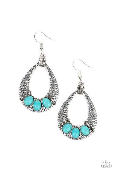 Terra Terrific Turquoise Earrings