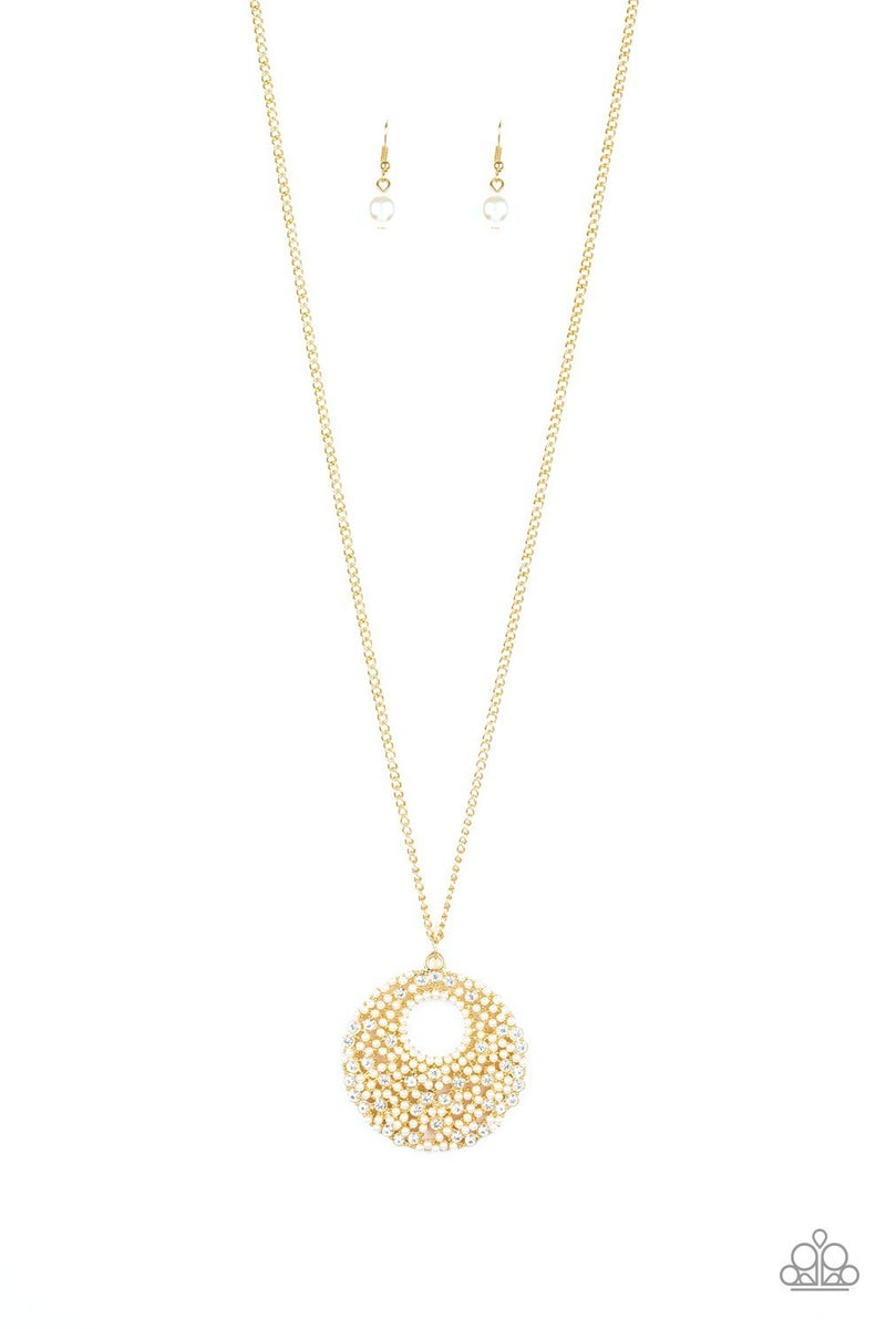 Pearl Panache Gold Necklace