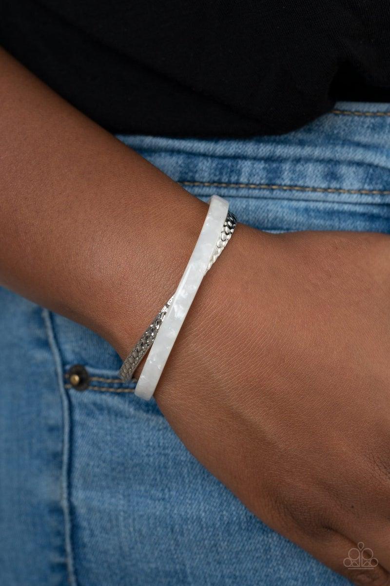 Haute On The Trail White Bracelet