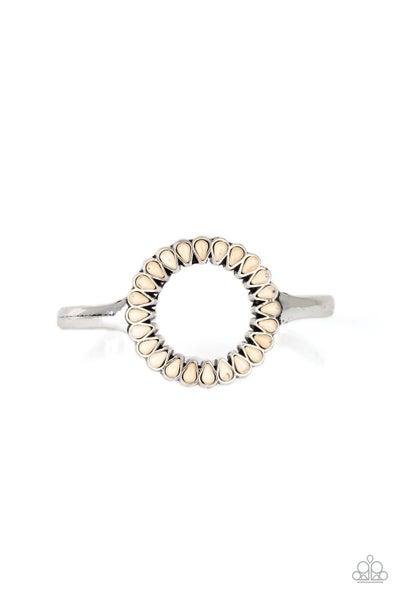 Divinely Desert White Bracelet