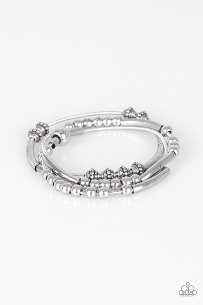 Industrial Instincts Silver Bracelet