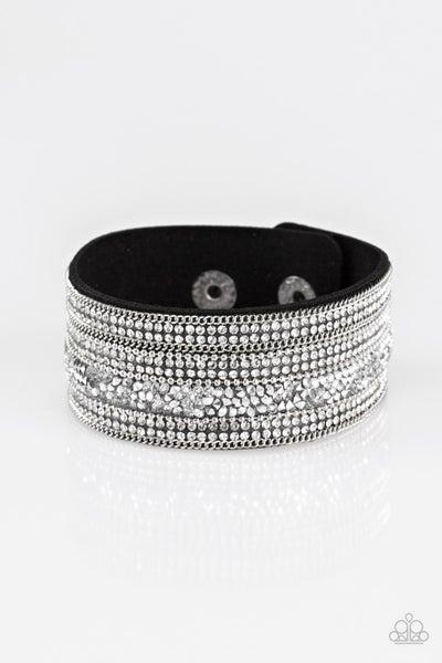 Really Rock Band Black Bracelet