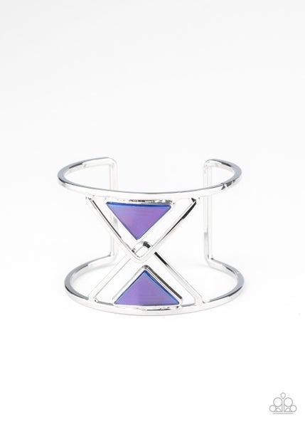Pyramid Palace Blue Bracelet