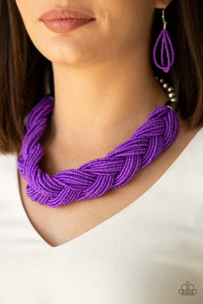 The Great Outback Purple Necklace