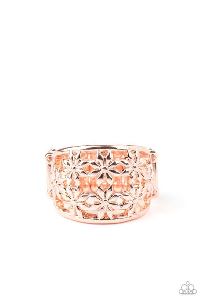 Crazy About Daisies Rose Gold Ring