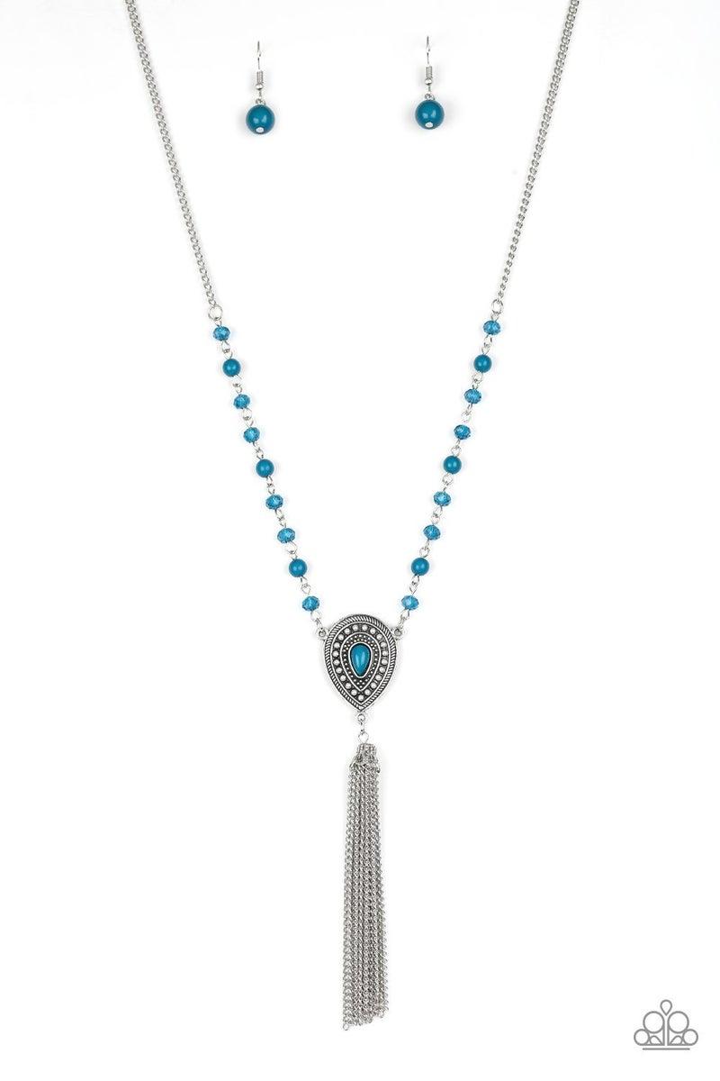 Soul Quest Blue Necklacee