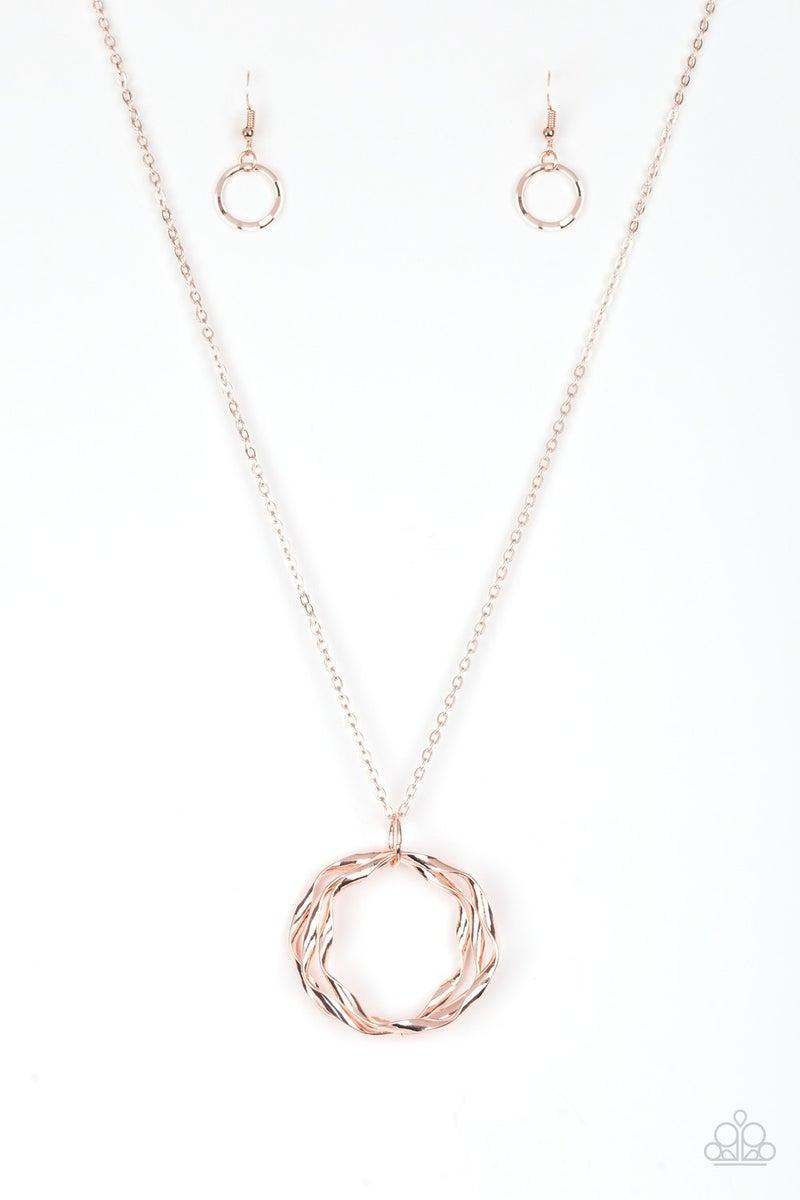 Millennial Minimalist Rose Gold Necklace