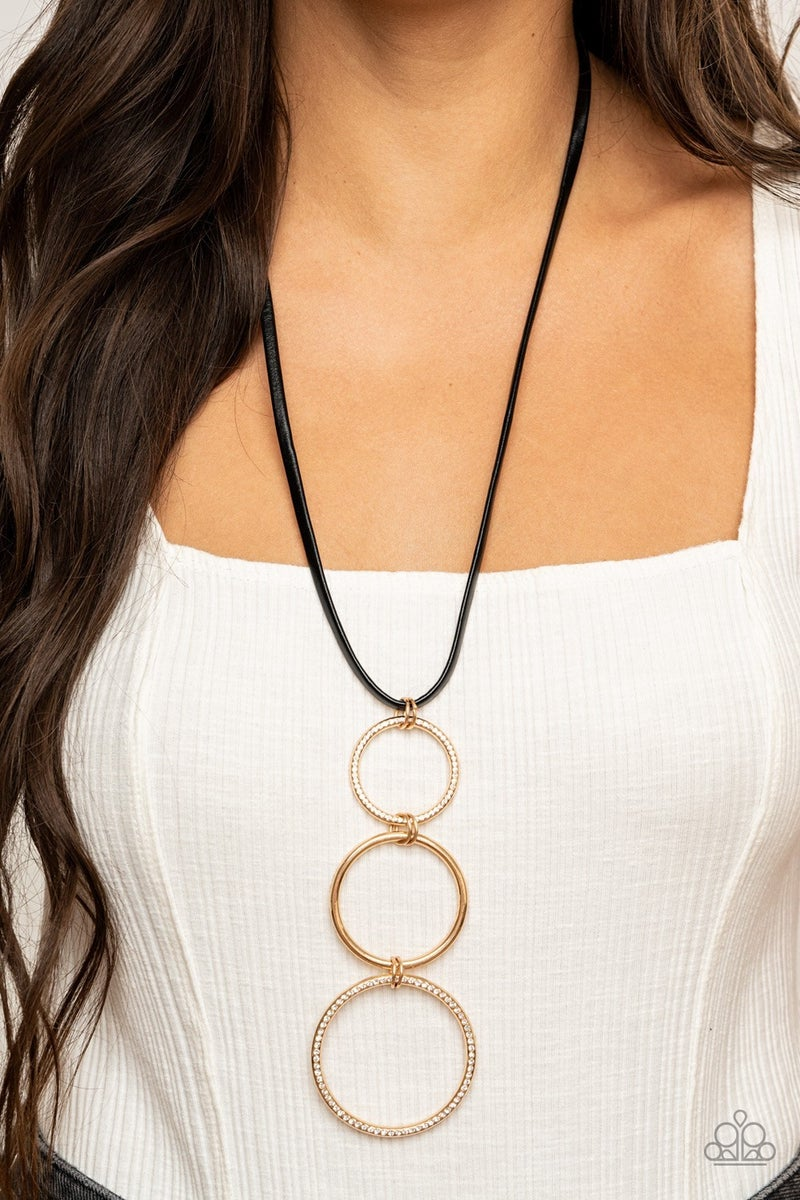 Curvy Couture Gold Necklace