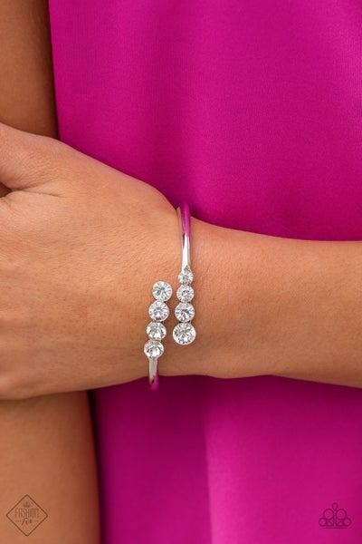 Defying Dazzle White Bracelet