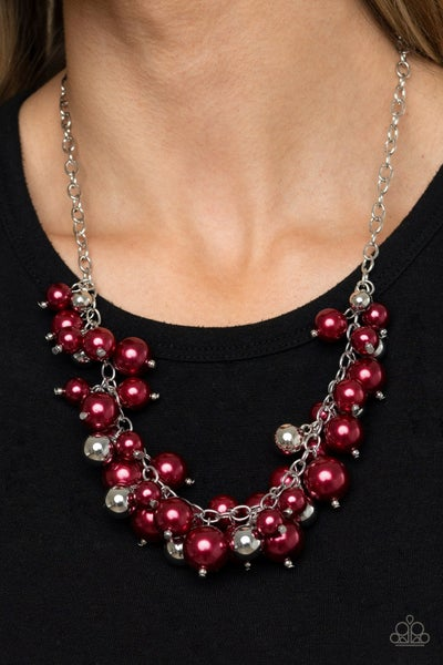 Uptown Upgrade Red Necklace