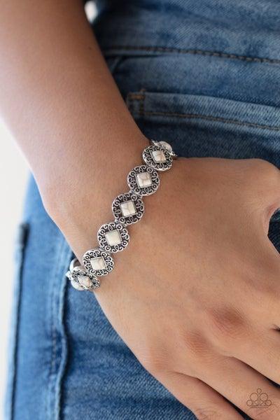 Desert Dilemma White Bracelet