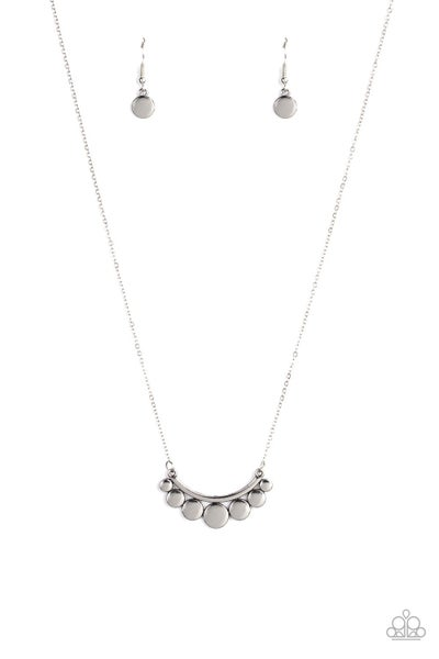 Melodic Metallics Silver Necklace