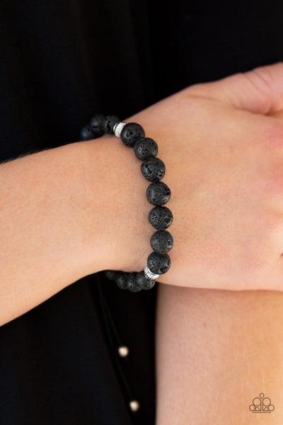 Relaxation Black Bracelet