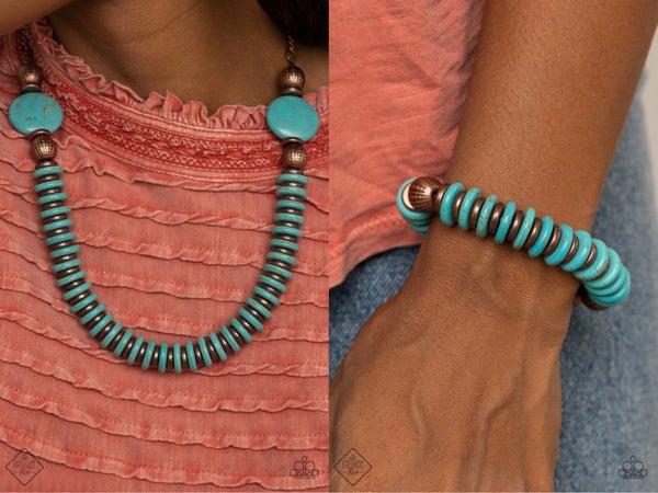 Desert Revival Turquoise Copper Set