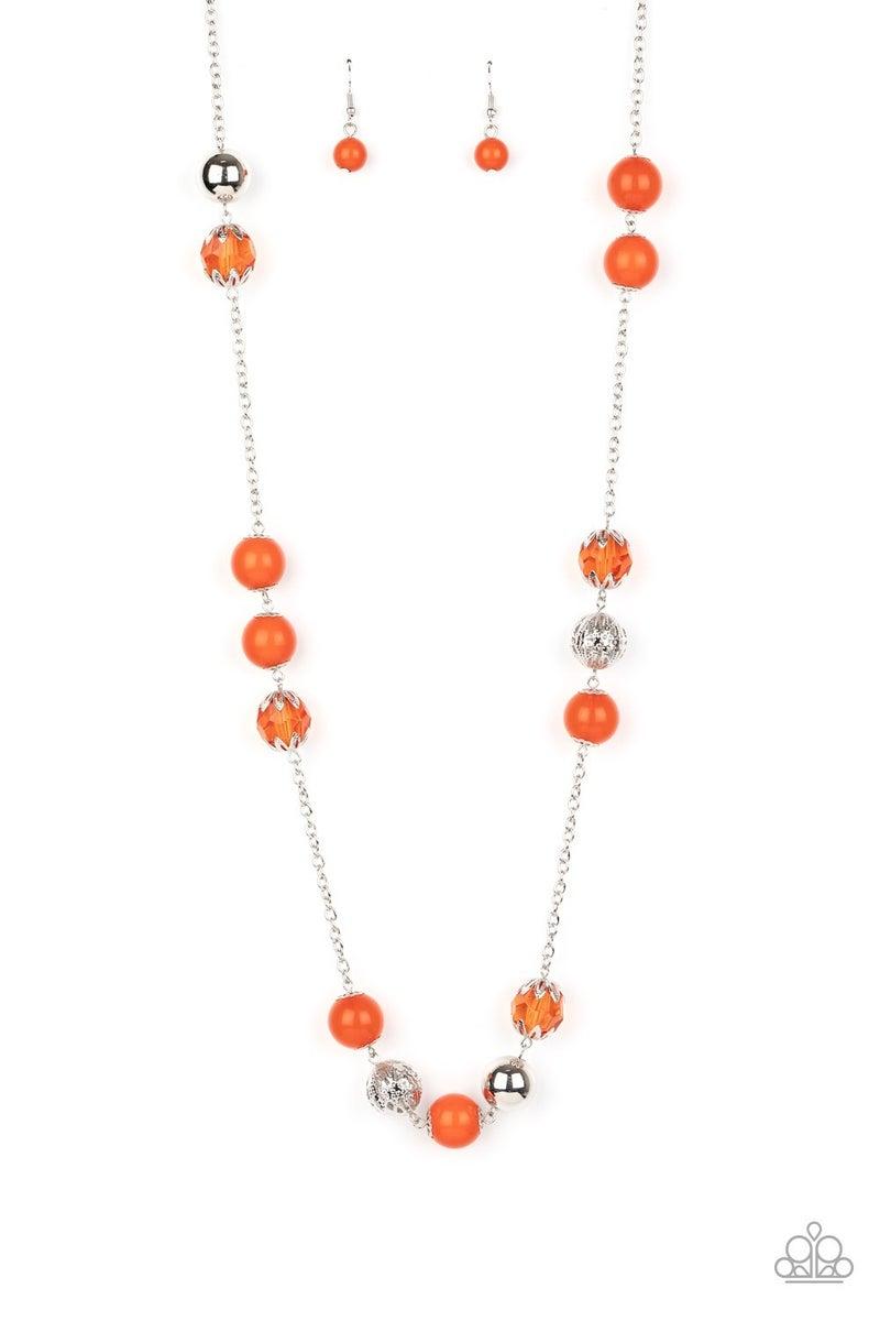Fruity Fashion Orange Necklace
