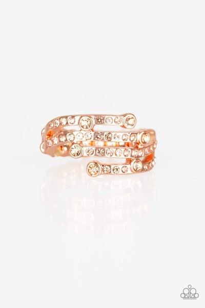 Casino Cache Copper Ring