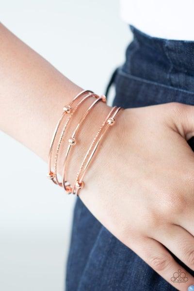Stellar Orbit Copper Bracelet