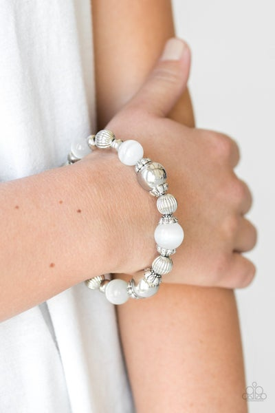 Once Upon A Maritime White Bracelet