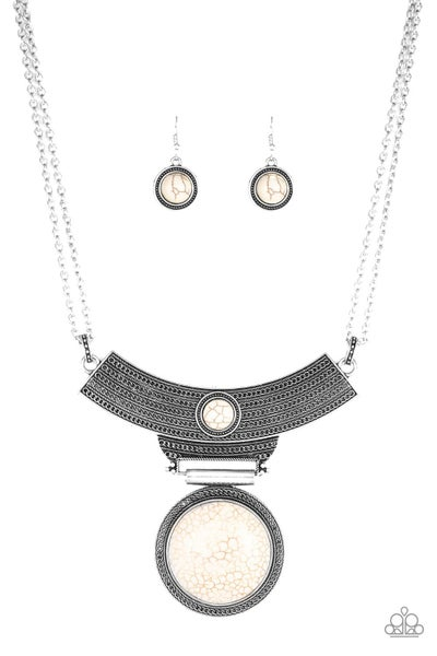Lasting EMPRESSions White Necklace