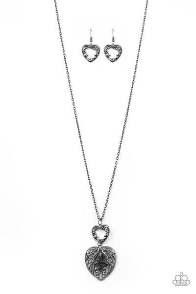 Garden Lovers Silver Necklace (TIN DIP)