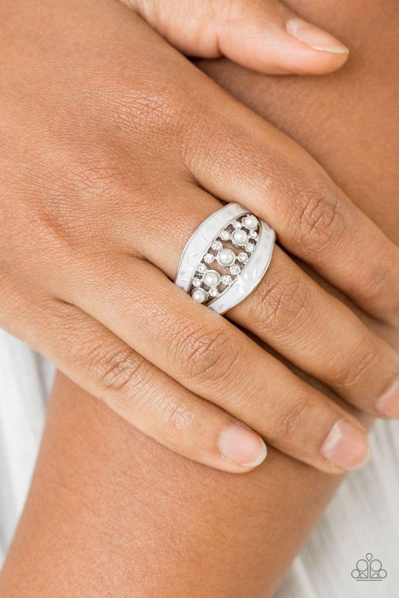 Royal Treasury White Ring