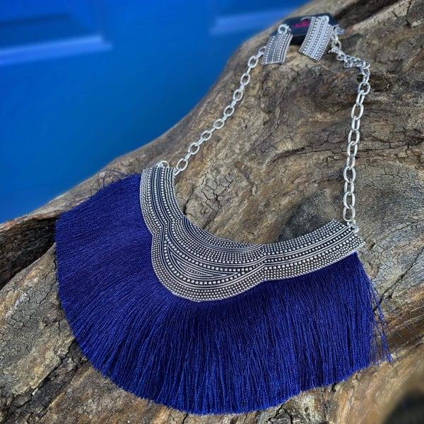 My Pharaoh Lady Blue Necklace