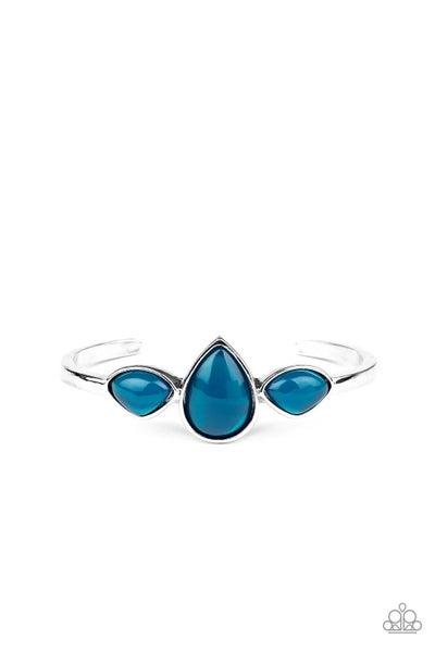 Boho Beach Babe Blue Bracelet