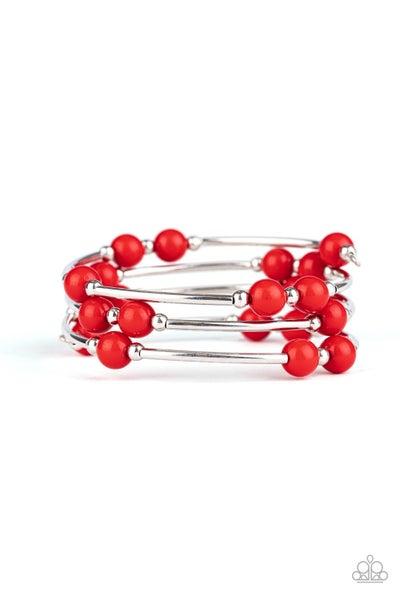 Let Freedom Ring Red Bracelet