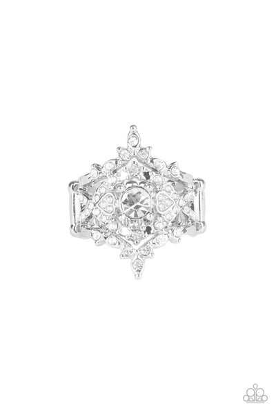 Royal Love Story White Ring
