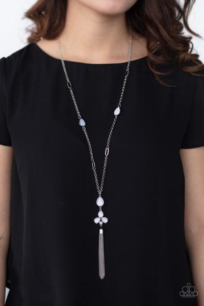 Eden Dew White Necklace