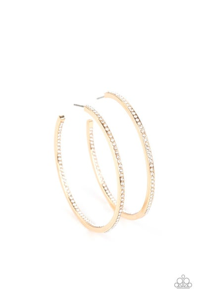 Marquee Magic Gold Hoops