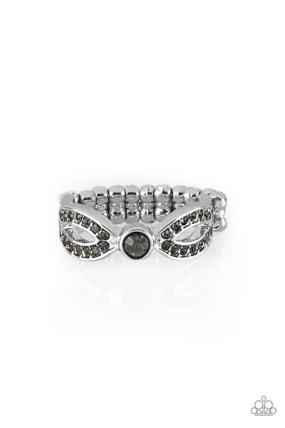 Extra Side Of Elegance Silver Ring