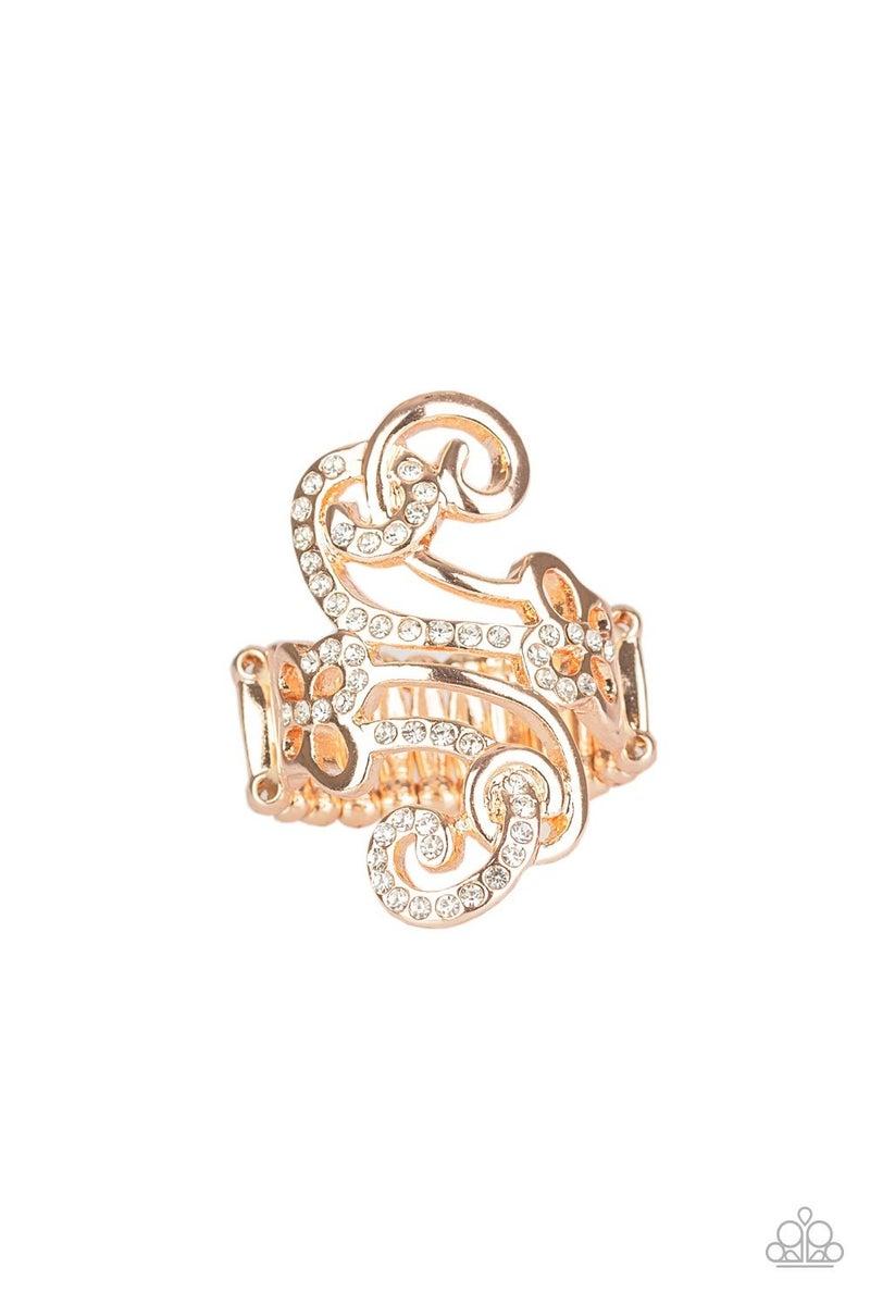 Waltzing Wonders Rose Gold Ring