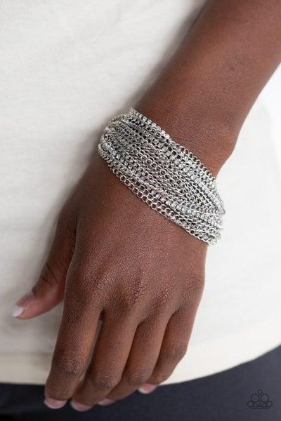 Pour Me Another White Bracelet