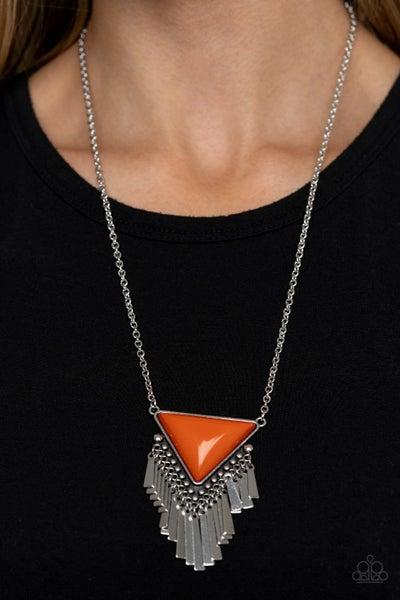 Badlands Bonanza Orange Necklace