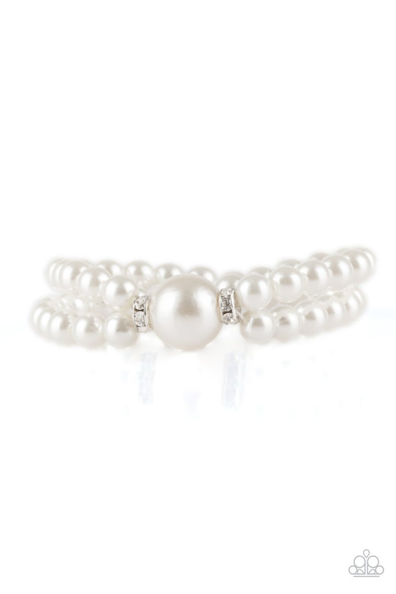 Romantic Redux Pearl Bracelet