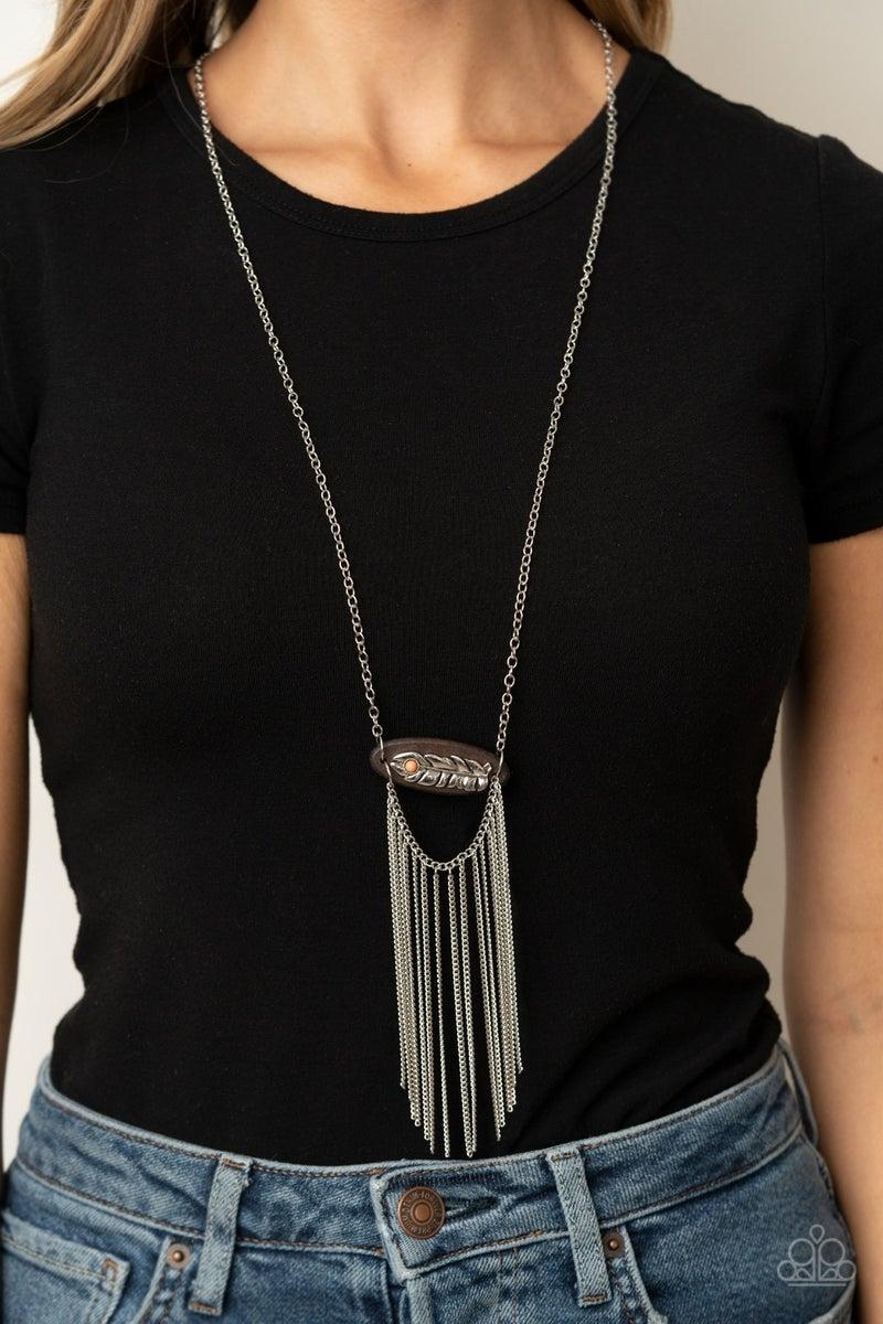Desert Spirit Orange Necklace