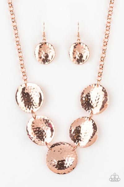 First Impressions Copper Necklace