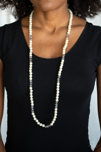 Girls Have More Funds Pearl Necklace
