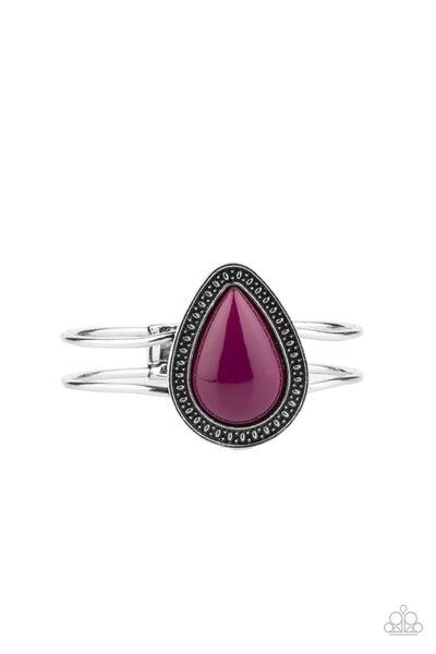 Over The Top Pop Purple Bracelet