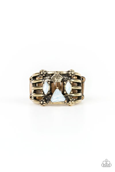 Shape Scene Brass Ring
