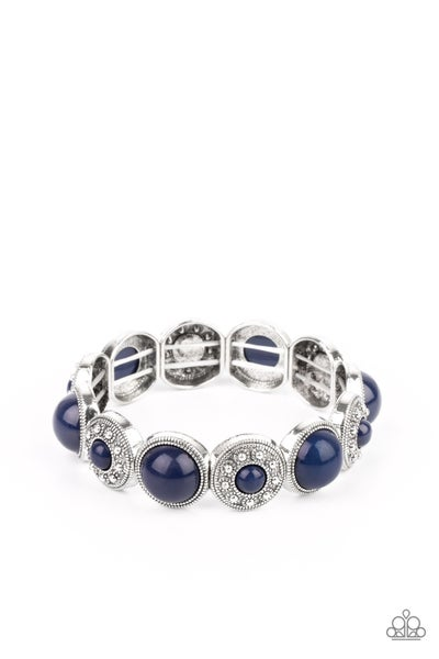 Garden Flair Blue Bracelet