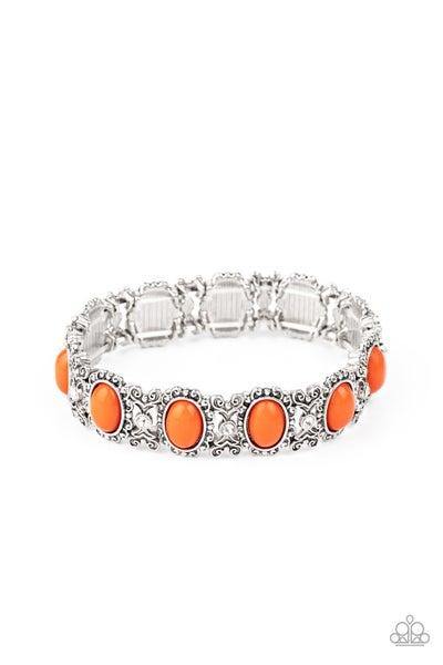 A Piece of Cake Orange Bracelet