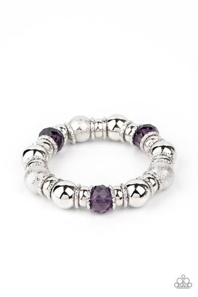 Take Your Best Shot Purple Bracelet