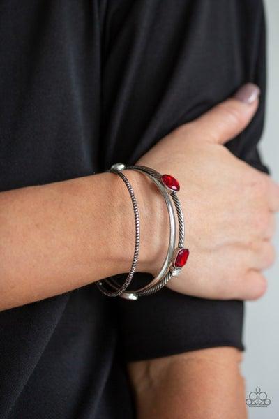 City Slicker Sleek Red Bracelet