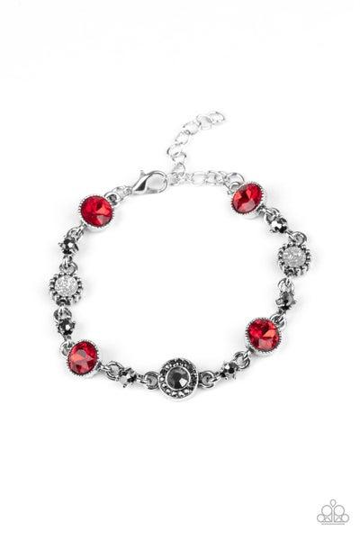 Stargazing Sparkle Red Bracelet